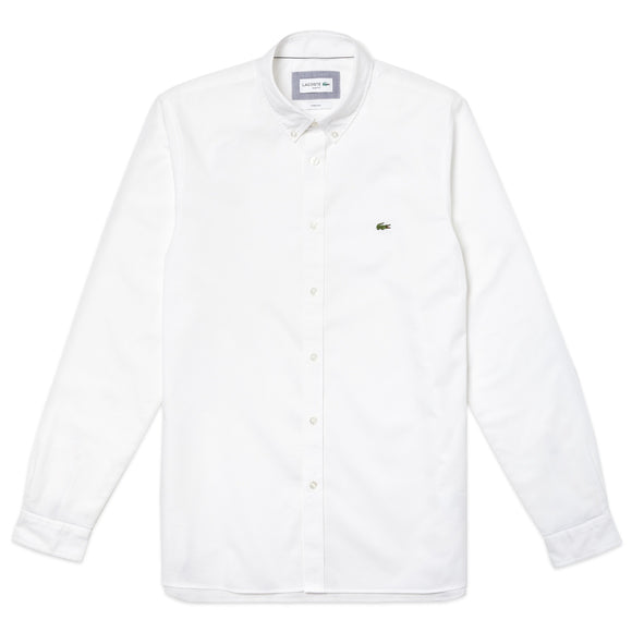 Lacoste Slim Fit Oxford Shirt CH0763 - White