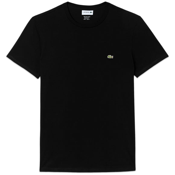 Lacoste TH6709 Pima Cotton T-Shirt - Black