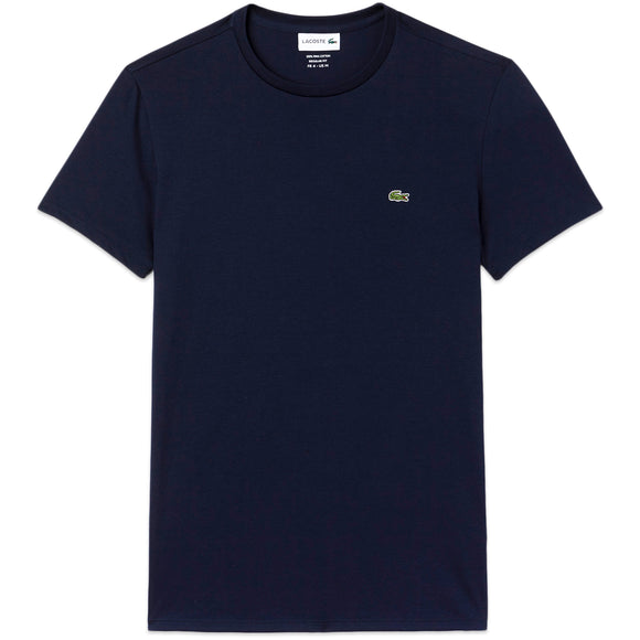Lacoste TH6709 Pima Cotton T-Shirt - Navy