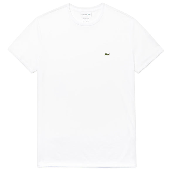 Lacoste TH6709 Pima Cotton T-Shirt - White
