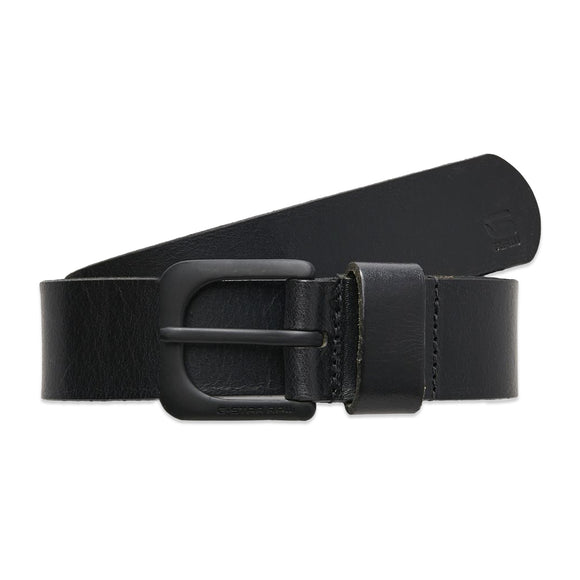 G-Star Zed Leather Belt - Black