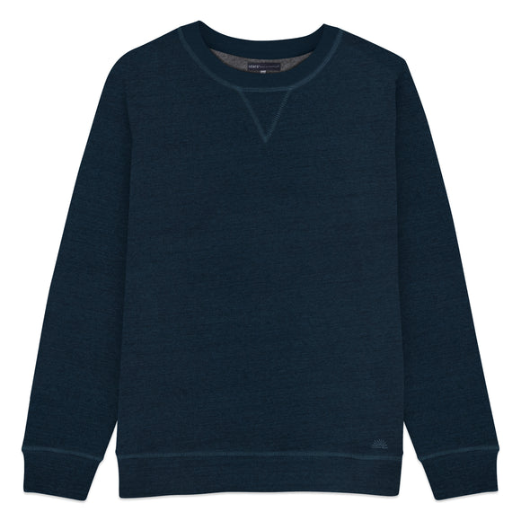 Levi's Made & Crafted Crewneck Sweatshirt - Blue Shade Heather