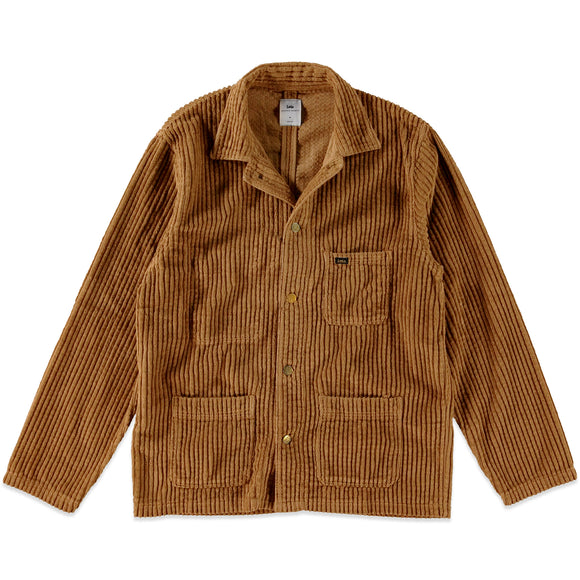 Lois New French Worker Jacket - Curry Jumbo Cord