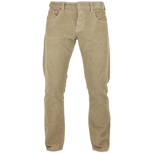 Lois Sierra Needle Cord Trousers - Dark Sand