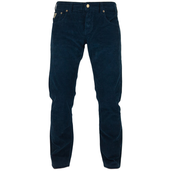 Lois Sierra Needle Cord Trousers - Navy