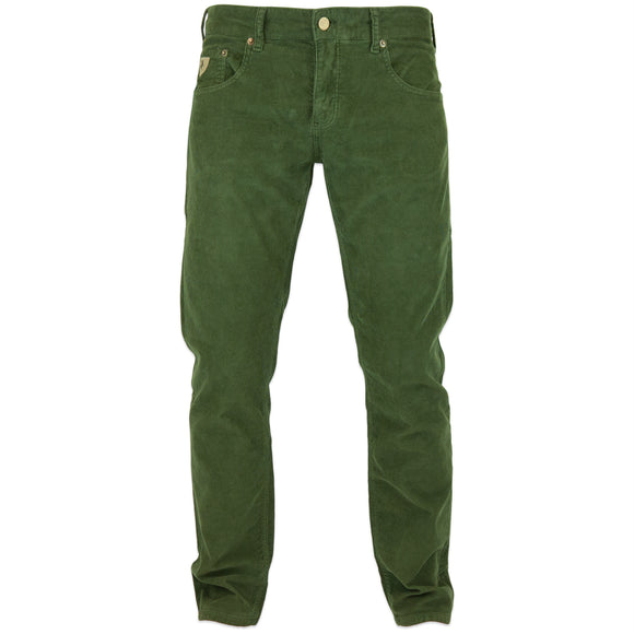 Lois Sierra Needle Cord Trousers - Olive