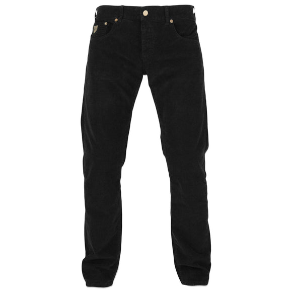 Lois Sierra Needle Cord Trousers - Black