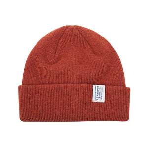 Barbour Lambswool Watch Cap - Clay Red - Arena Menswear