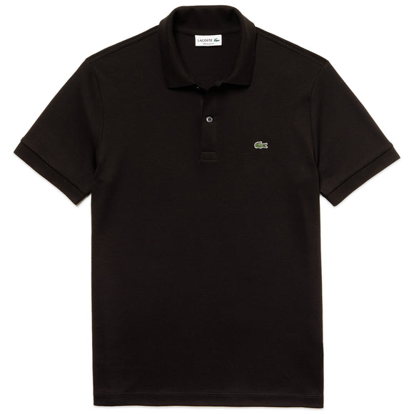 Lacoste Stretch Jersey DH2050 Polo - Black