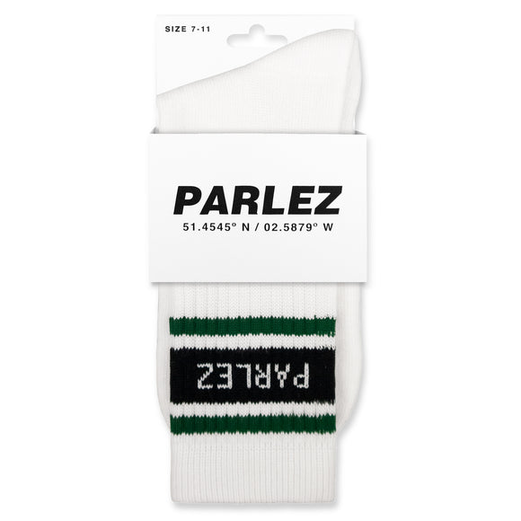 Parlez Block Socks - Forest