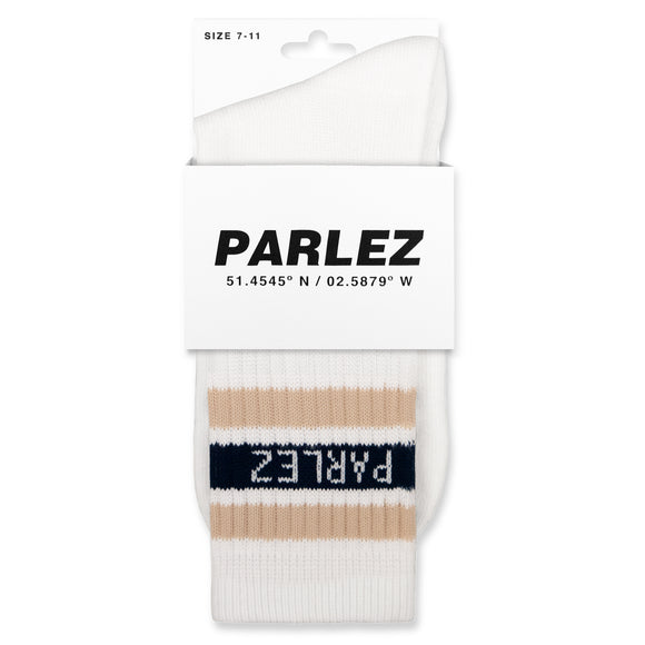 Parlez Block Socks - Sand