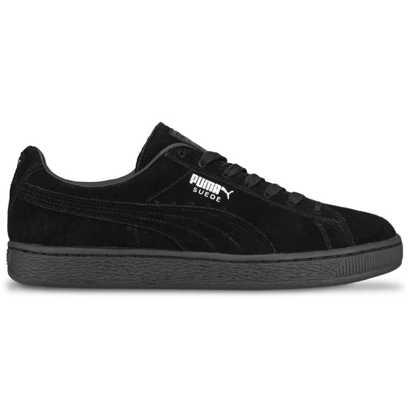 Puma Suede Classic Trainers - Black/Dark Shadow