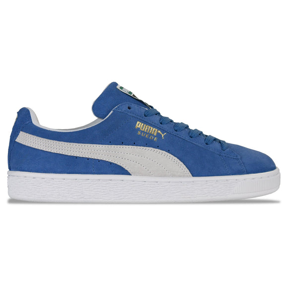 Puma Suede Classic Trainers - Olympian Blue/White