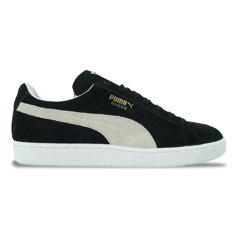 Puma Suede Classic Trainers in Black/White - Arena Menswear