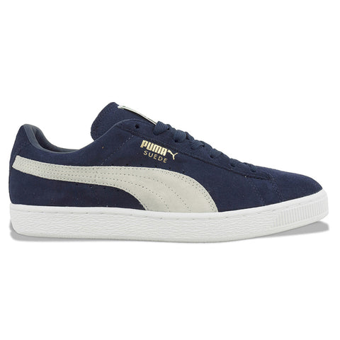 Puma Suede Classic Trainers in Peacoat/White - Arena Menswear