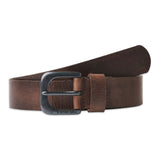 G-Star Zed Leather Belt - Dark Brown/Black Metal