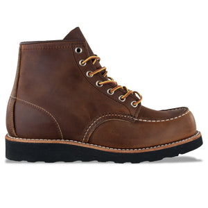 "Red Wing Moc Toe 8886  6"" Leather Boot - Copper - Arena Menswear"