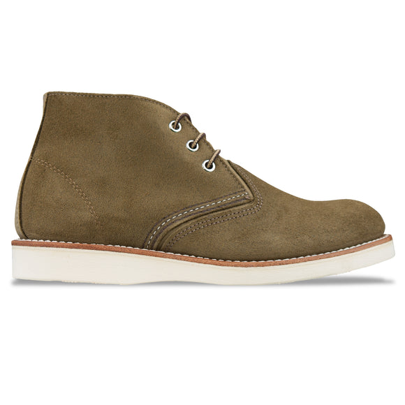 Red Wing 3149 Classic Chukka Boot - Olive Mohave Leather