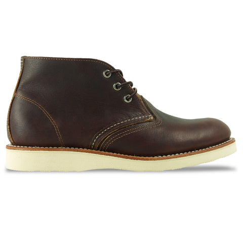 Red Wing 3141 Classic Leather Chukka Boot -Briar Oil Slick (Brown) - Arena Menswear