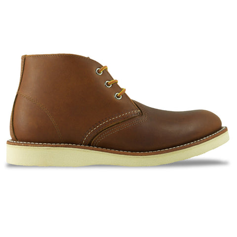 Red Wing 3140 Classic Leather Chukka Boot - Oro-iginal (Tan) - Arena Menswear