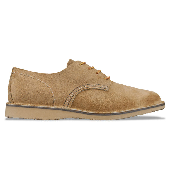 Red Wing 3302 Weekender Oxford Shoe - Hawthorne Muleskin Leather