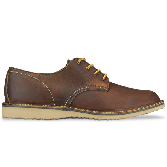Red Wing 3303 Weekender Oxford Shoe - Copper Rough & Tough