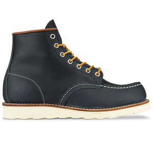 "Red Wing 8859  6"" Moc Toe Leather Boot - Navy Portage"