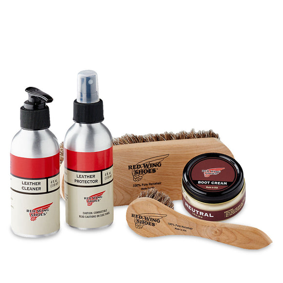Red Wing Smooth Finished Leather Care Kit - 97097 - Arena Menswear - 1