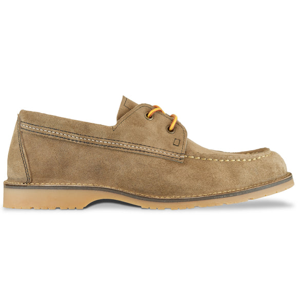 Red Wing 3330 Wacouta Camp Moc Shoe - Camel Mule Skin Leather