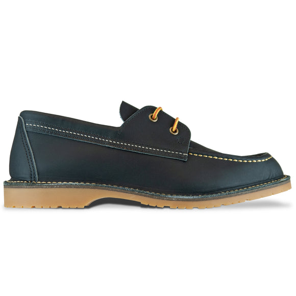 Red Wing 3332 Wacouta Camp Moc Shoe - Navy