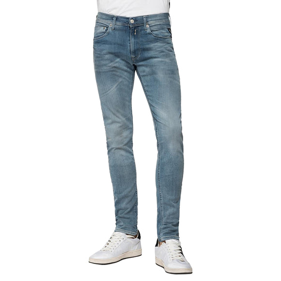 Replay Hyperflex Anbass BIO Edition Slim Fit Jeans - Light Blue