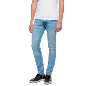 Replay Hyperflex Anbass CLOUDS Edition Slim Fit Jeans - Light Blue