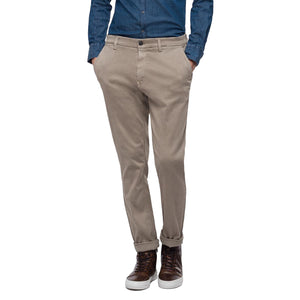 Replay Hyperflex Zeumar Slim Chino Trousers - Sand