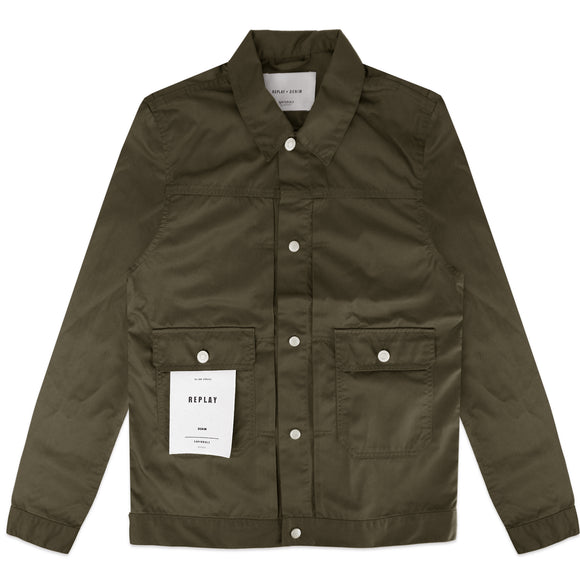 Replay Sartoriale Jacket - Olive