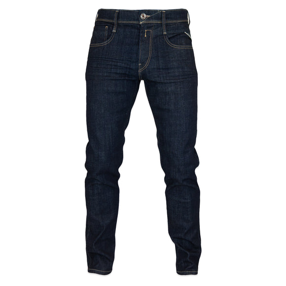 Replay Anbass Slim Jeans - Raw Stretch Denim - 0 Year Aged
