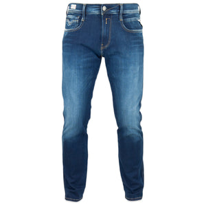 Replay Hyperflex Surf Blue Edition Slim Fit Jeans - Washed