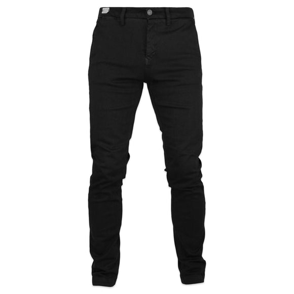 Replay Hyperflex Zeumar Slim Chino Trousers - Black