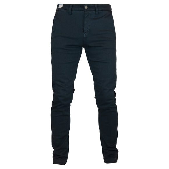Replay Hyperflex Zeumar Slim Chino Trousers - Blue