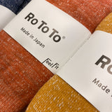 RoToTo Double Face Merino Wool Socks - Deep Ocean
