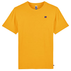 Russell Athletic Baseliner Small Logo Embro T-Shirt - Yellow