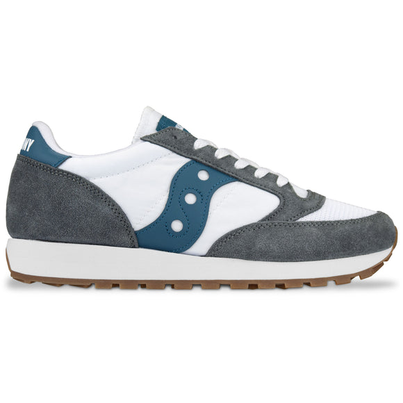 Saucony Jazz Original Vintage Trainers - Grey/White/Teal