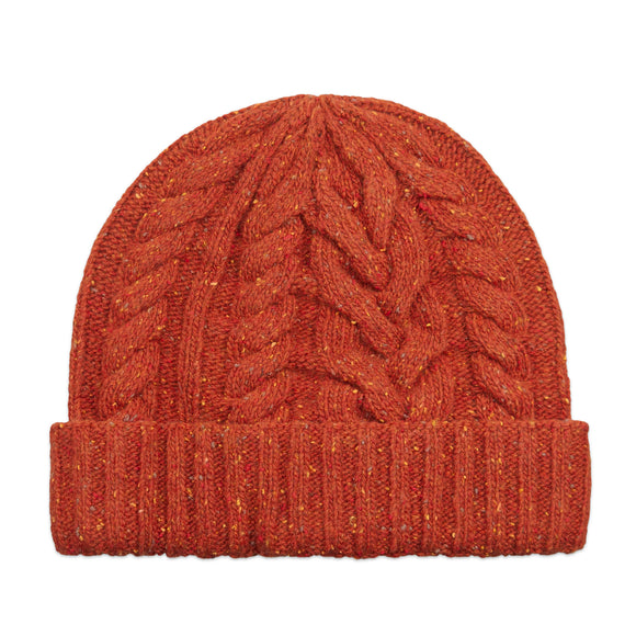 Sebago Campsides Vaughan Beanie - Reddish Orange