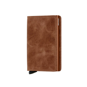 Secrid Slim Wallet Vintage Cognac-Rust