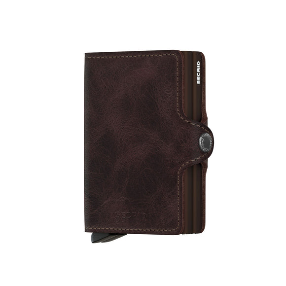 Secrid Twin Wallet Vintage Chocolate