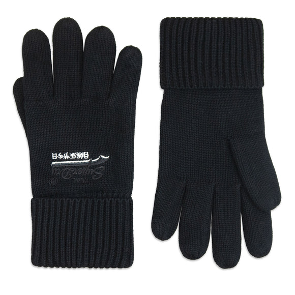 Superdry Orange Label Gloves - Black