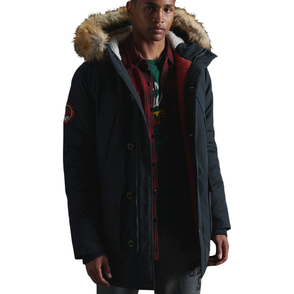 Superdry Everest Parker Jacket - Eclipse Navy