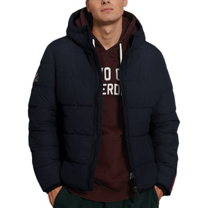 Superdry Sports Puffer Jacket - Navy