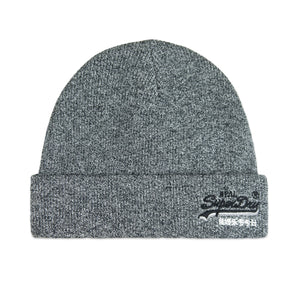 Superdry Orange Label Beanie - Grey