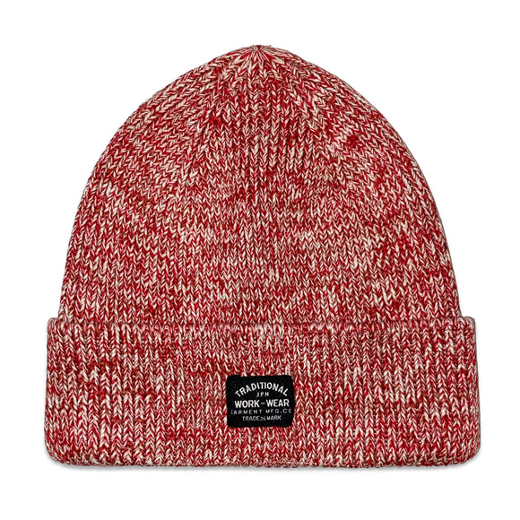 Superdry Storm Twist Beanie - Desert Red Grit