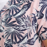 Superdry Cabana SS Shirt - Pink Palm
